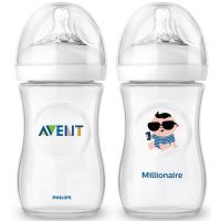 Philips Avent Láhev Natural 260 ml a Milionář 260 ml