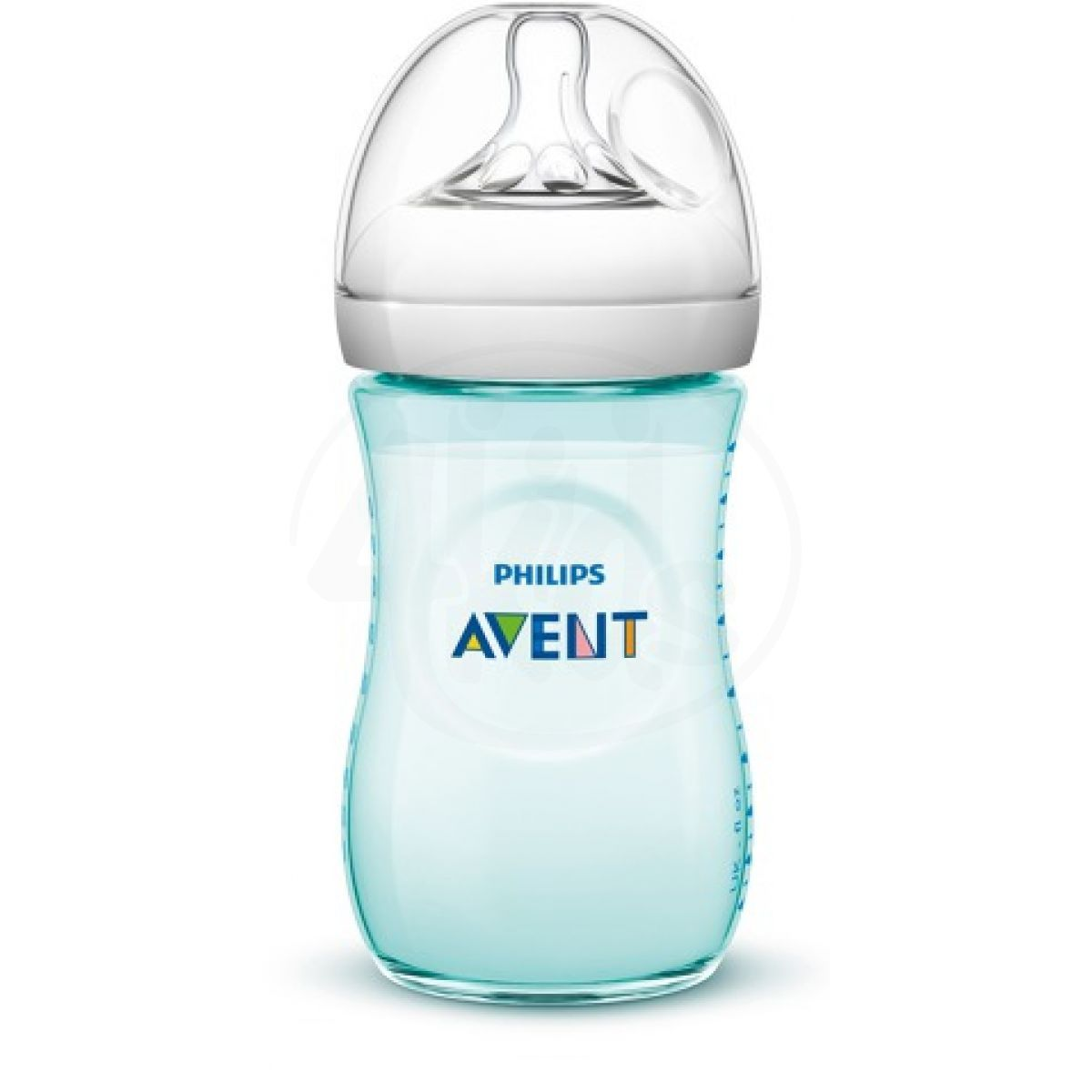 Philips Avent Láhev Natural 260 ml zelená
