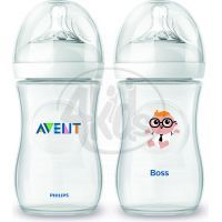 Philips Avent Láhev Natural 260 ml a Šéf 260 ml