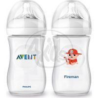 Philips Avent Láhev Natural 260 ml a Hasič 260 ml