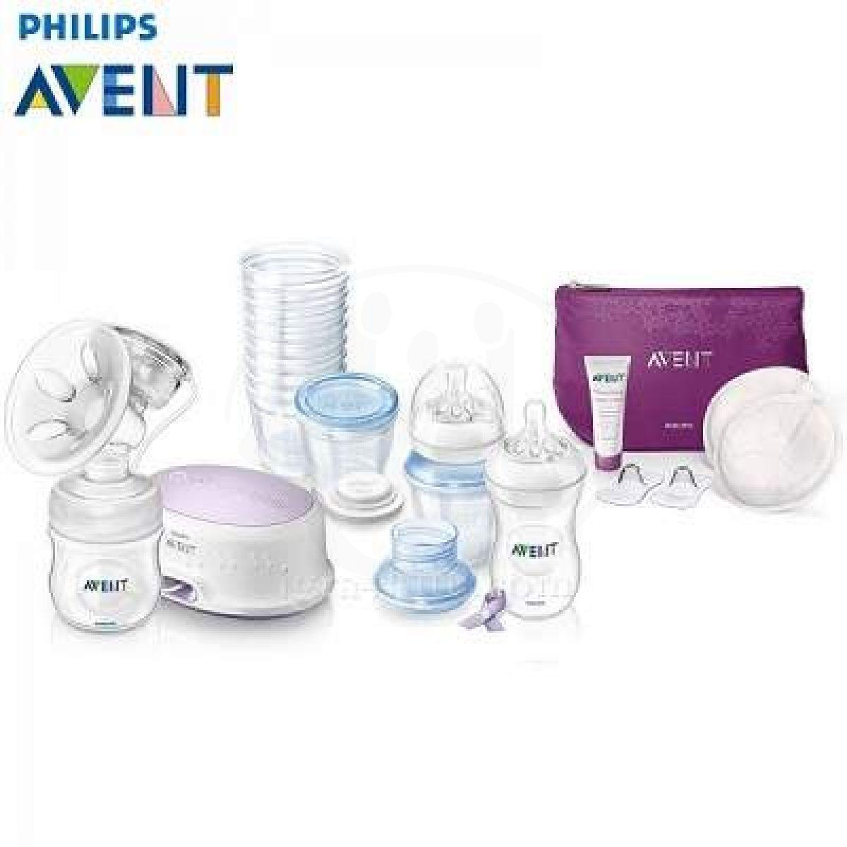 Philips Avent odsávačka Natural elektronická a taštička
