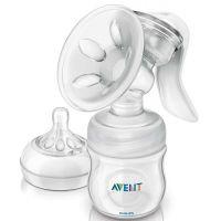 Philips Avent Odsávačka Natural se zásobníkem 125 ml a lahvičkou 2