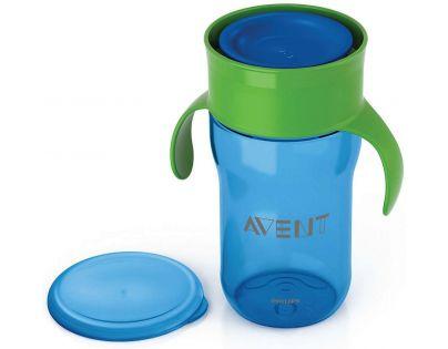 Philips Avent První skutečný hrneček 340 ml - Modro-zelená