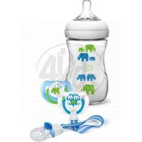 Philips Avent Sada Natural Slon pro chlapce