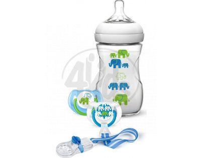 Philips Avent Sada Natural Slon pro chlapce