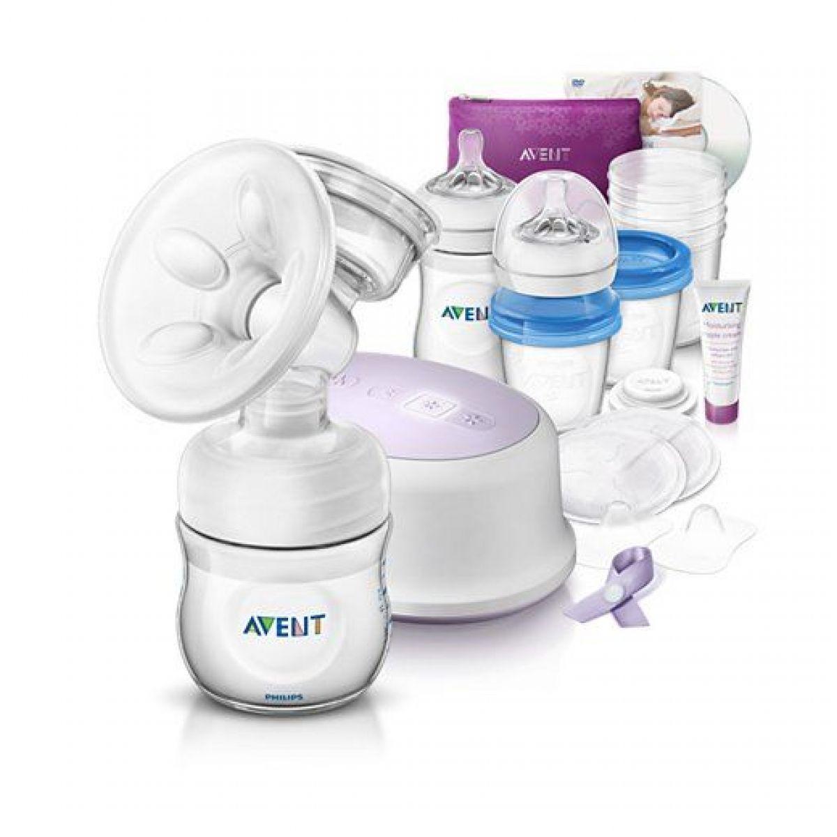 Philips Avent Sada pro kojení s elektrickou odsávačkou Natural
