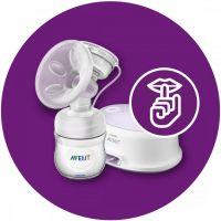 Philips Avent Sada pro kojení s elektrickou odsávačkou Natural 3