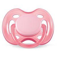 Philips Avent Šidítko Sensitive 0 - 6m - Růžová