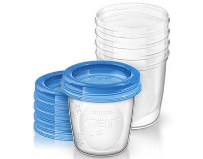 Philips Avent VIA pohárky s víčkem 180 ml 5ks
