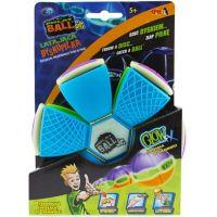 Phlat Ball JR. Svítící ve tmě - Modro-zelená 2