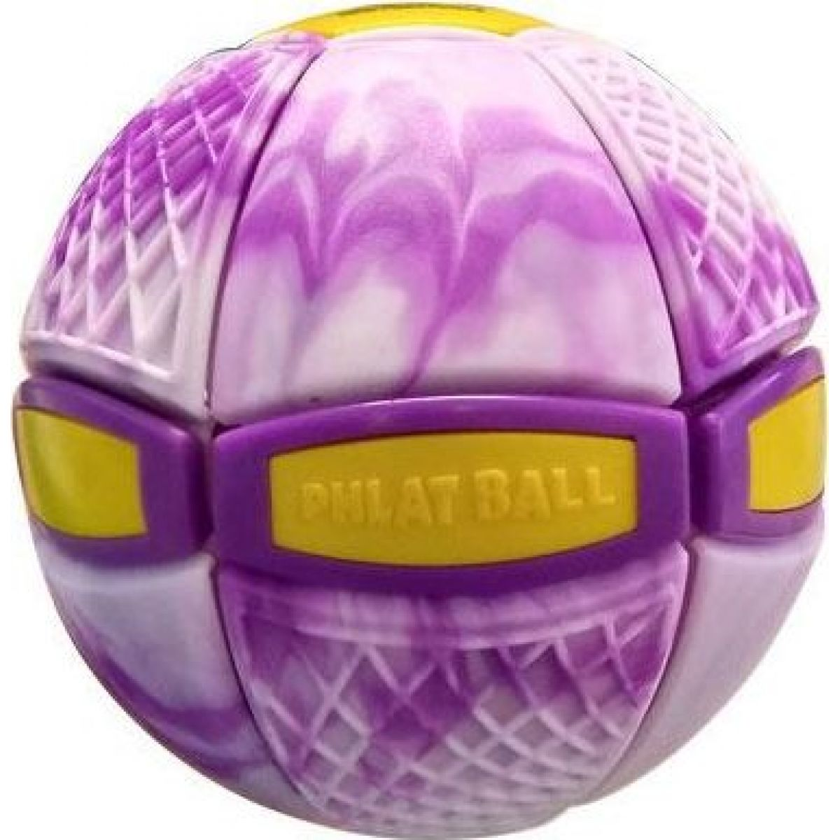 Phlat Ball junior Swirl fialový