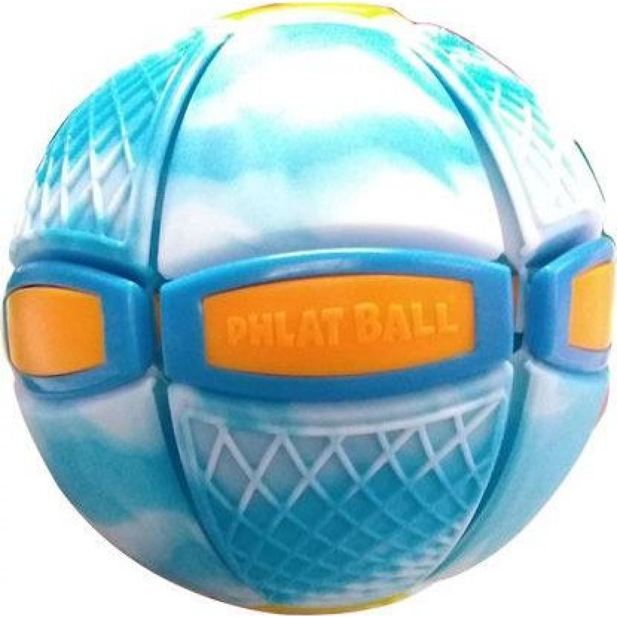 Phlat Ball junior Swirl modrý