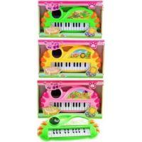 Piano se zvířátky 13 kláves na baterie