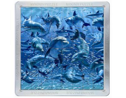 Piatnik 3D Magnetické puzzle - Delfíni
