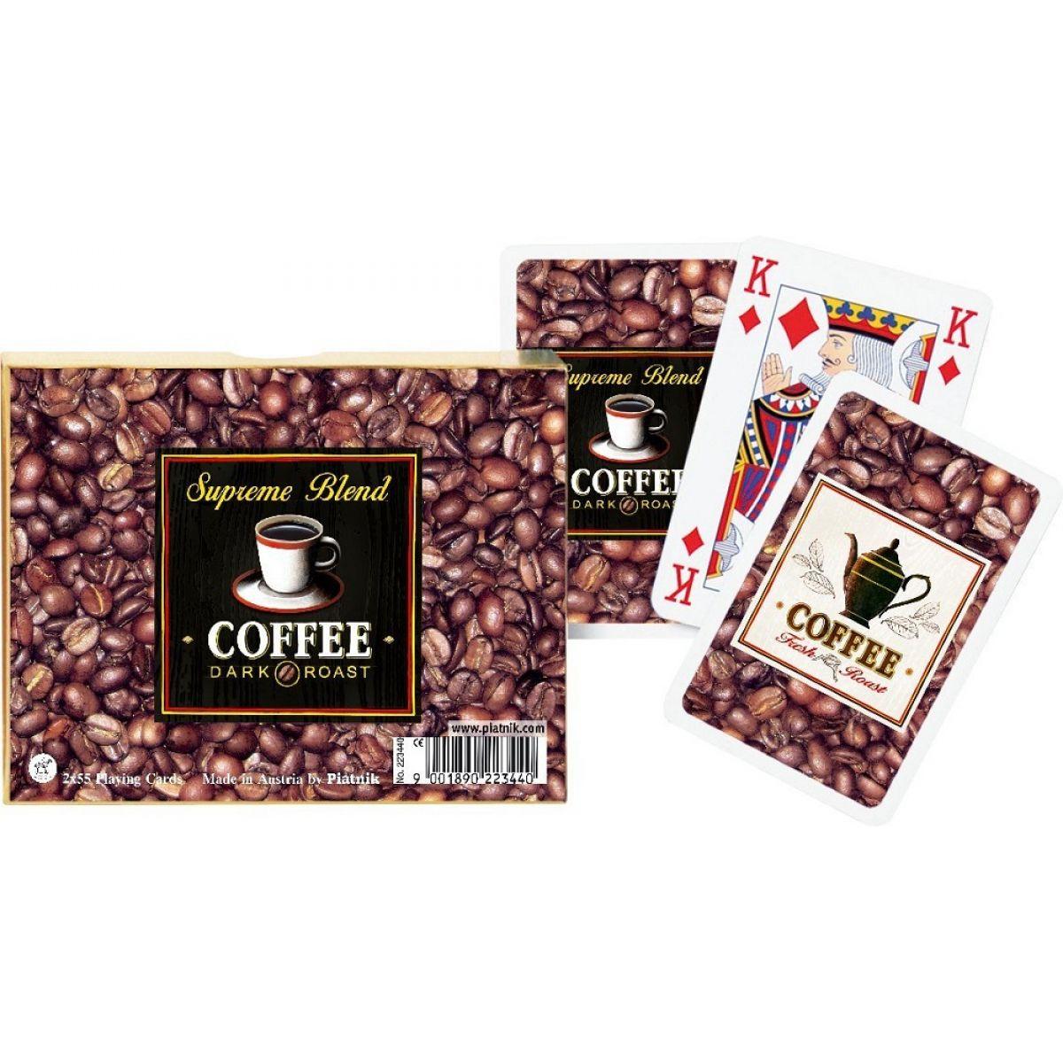 Piatnik Karty Kanasta Káva