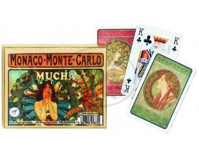 Piatnik Karty Kanasta Mucha Monte Carlo
