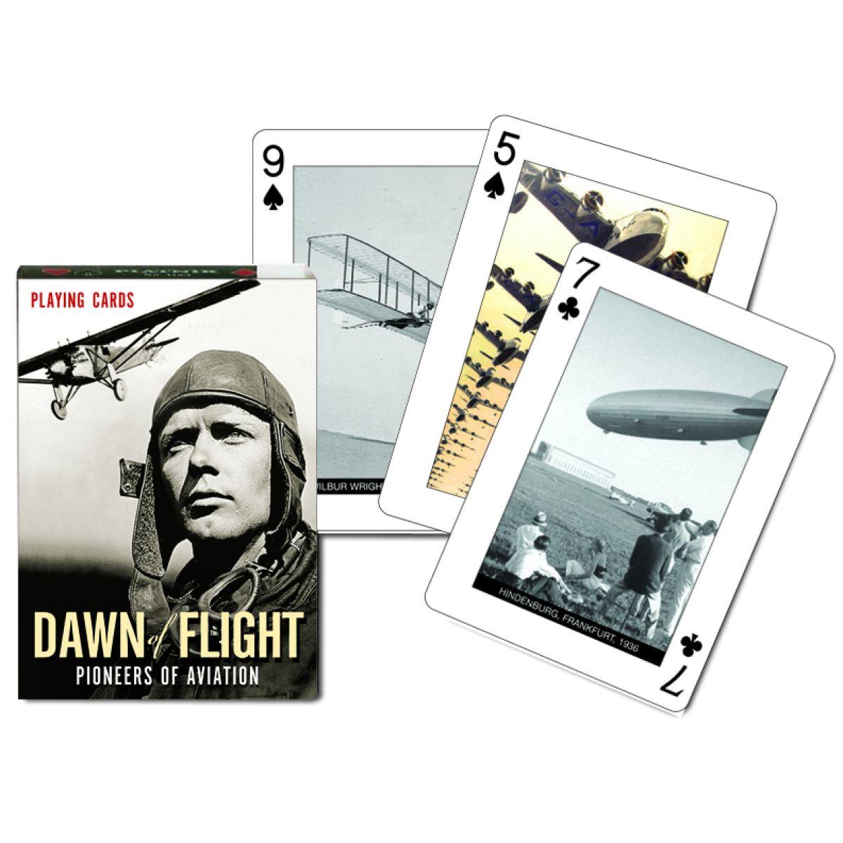 Piatnik Karty Poker Počátky letectví