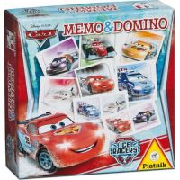 Piatnik Pexeso a Domino Cars Ice Racers