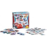 Piatnik Pexeso a Domino Cars Ice Racers 2