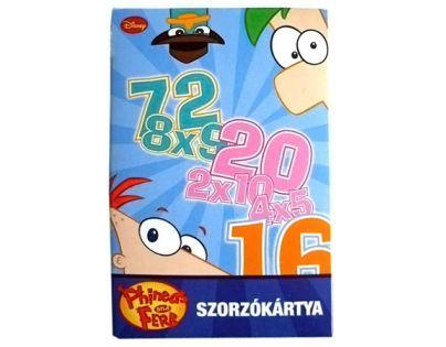 Piatnik 1603 - Phineas a Ferb - početní hra