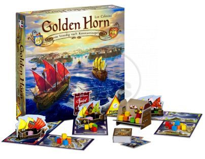 Piatnik Společenská hra Golden Horn
