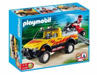 Playmobil 4228 - Pick-up se čtyřkolkou