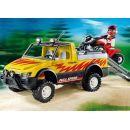 Playmobil 4228 - Pick-up se čtyřkolkou 2