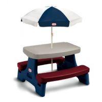Piknikový stoleček Junior se slunečníkem - Poškozený obal