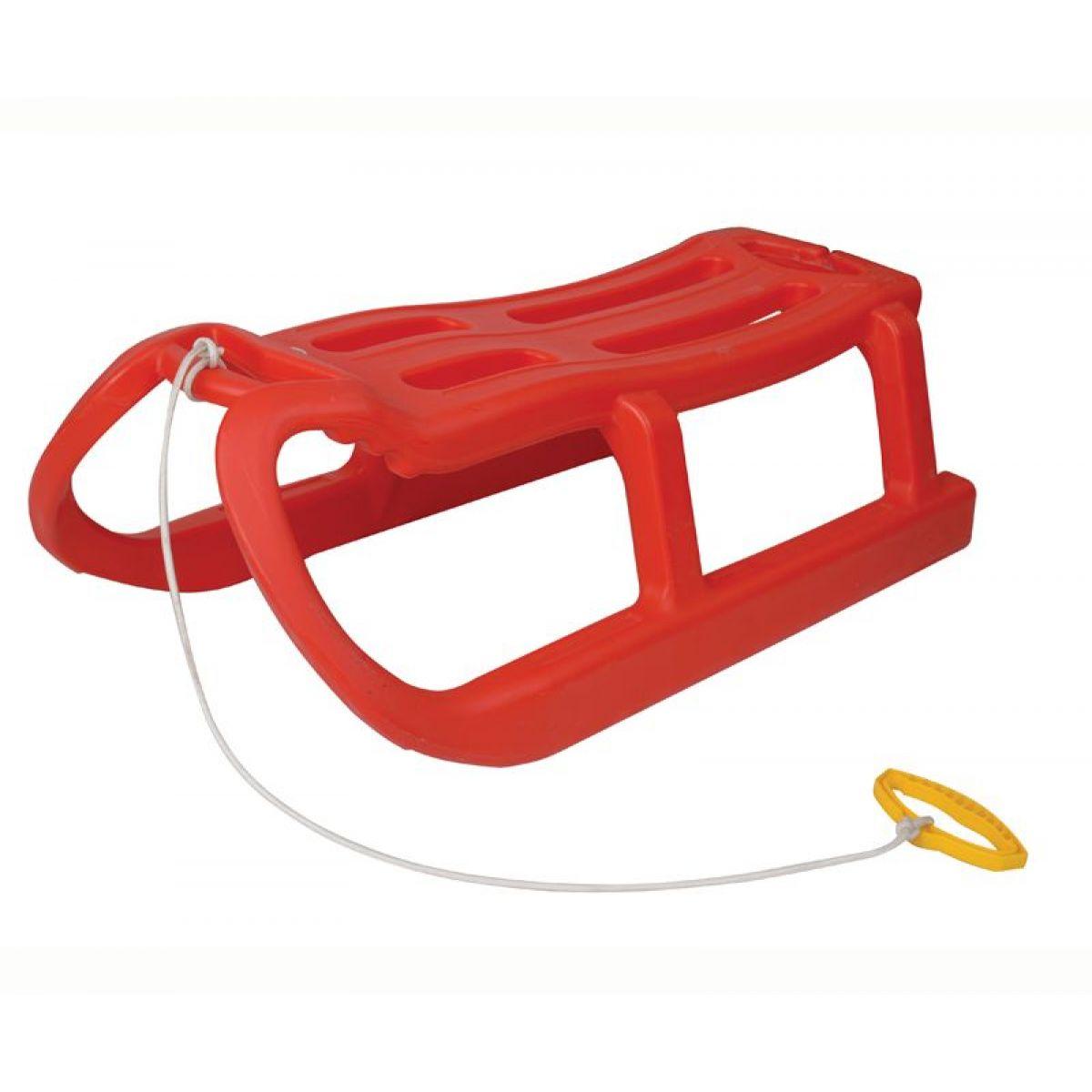 PILSAN Sáňky plastové SNOW MONSTER červené