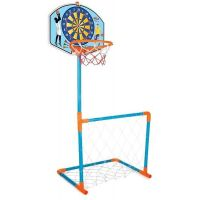 Pilsan Toys Basketbalová deska s fotbalovou brankou Terč