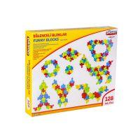 Pilsan Toys Stavebnice Funny Blocks 128 ks