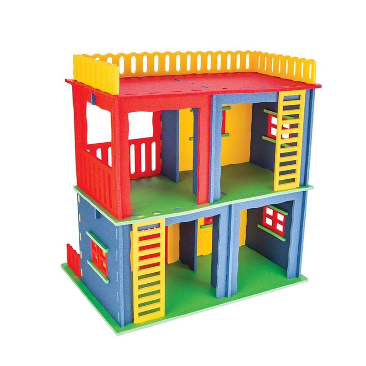 Pilsan Toys Stavebnice Poly mega domeček