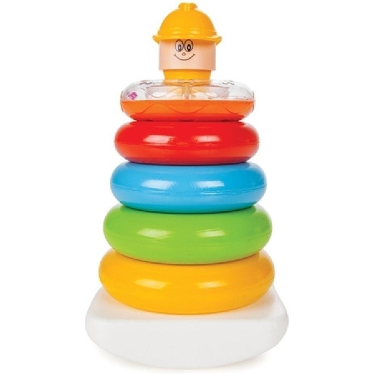 Pilsan Toys Stavebnice Výchovné a zábavné kroužky 6 ks