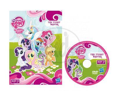 Hasbro 30491 - My little Pony - Pinkie Pie poník s dvd - pohádka