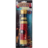 Pirátský dalekohled zlatý