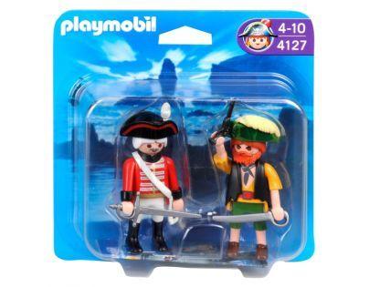 Playmobil 4127 Pirát a voják britské armády