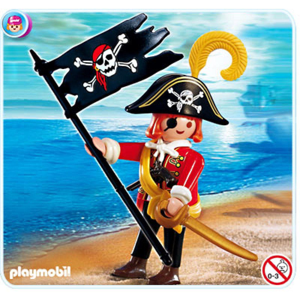 Playmobil 4690 - Pirát s vlajkou