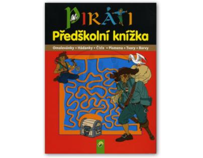 Piráti předškolní knížka Svojtka