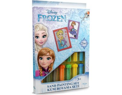 Hama Pískování obrázků 2 v 1 Ledové království Anna a Elsa