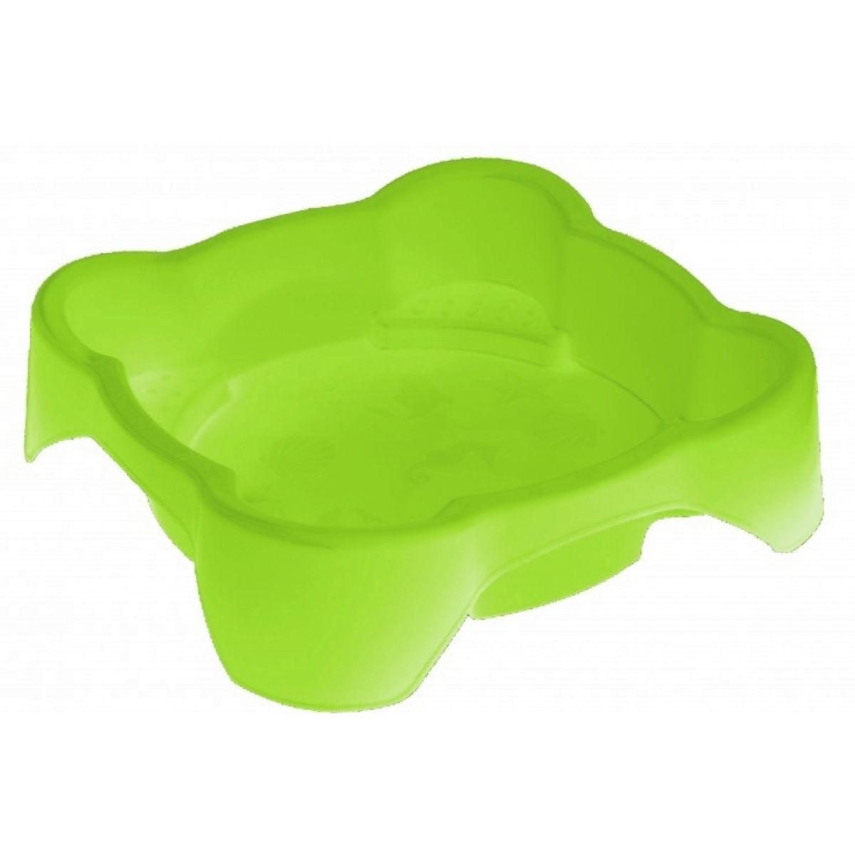 Palplay Pískoviště bazének čtverec - Zelená