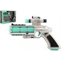 Pistole se zaměřovačem plast 20 cm v krabici
