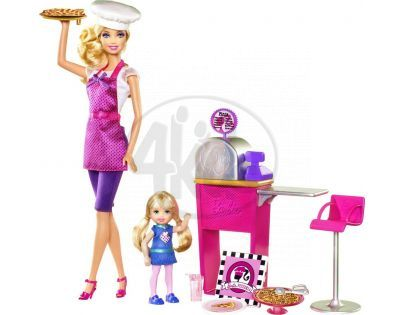 MATTEL T2694 - Barbie Pizza šéfkuchařka I Can Be