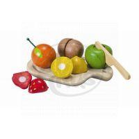 PlanToys 3600 - EKO - krájení, ovoce na prkénku