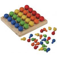 Plan Toys Kreativní kolíčková tabule 2