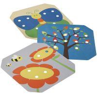 Plan Toys Kreativní kolíčková tabule 3