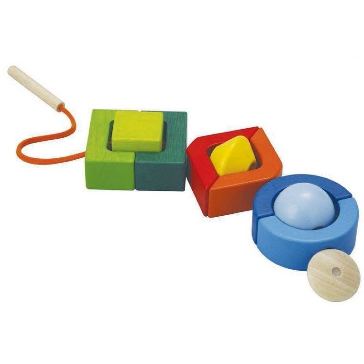 Plan Toys Navlékací geometrické tvary