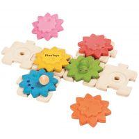 Plan Toys Ozubená kola a puzzle
