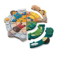 Plan Toys Puzzle Oblékání podle počasí