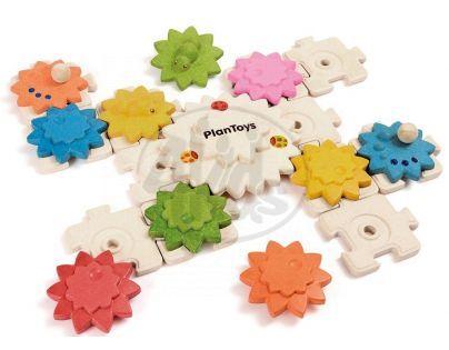 Plan Toys Puzzle a ozubená kola