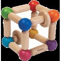 Plan Toys Tvarovací chrastítko Čtverec